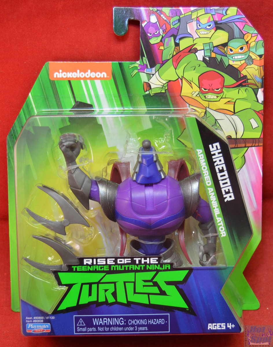 Hot Spot Collectibles And Toys Shredder Action Figure Error No Head