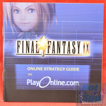 Final Fantasy IX Online Strategy Guide BOOKLET ONLY