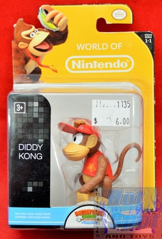 World of Nintendo Donkey Kong Country Tropical Freeze Diddy Kong