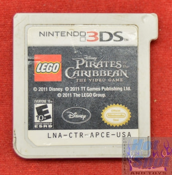 Pirates of the Caribbean Game Nintendo 3DS