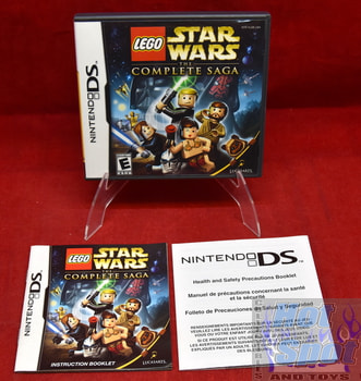 Lego Star Wars The Complete Saga Case & Instruction Booklet