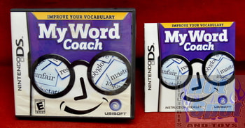 My Word Coach Original Case & Instruction Booklet