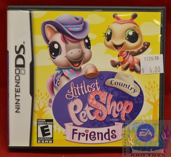 Littlest Country Pet Shop Friends Game Nintendo DS