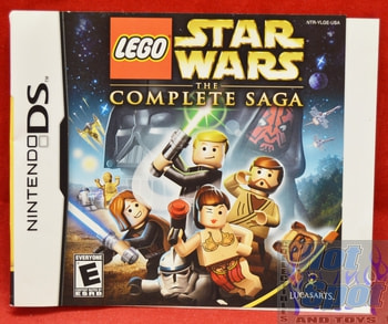 Lego Star Wars The Complete Saga SLIP COVER ONLY