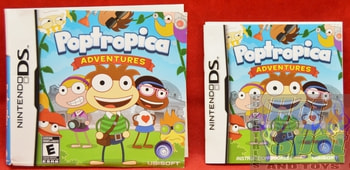 Poptropica Adventures BOOKLET AND SLIP COVER ONLY