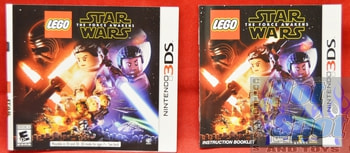 LEGO Star Wars The Force Awakens BOOKLET AND SLIP COVER ONLY