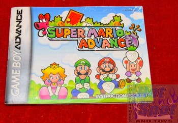 Super Mario Advance Instruction Booklet