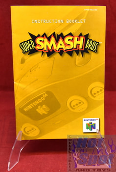 Super Smash Bros. Instruction Booklet