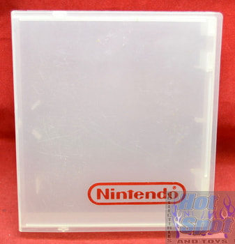 Cartridge Hardshell NES Case Clear w/ Red Logo