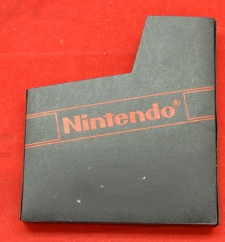 Nes Game Dust Cover Black