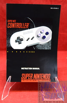 Super NES Controller Instruction Manual