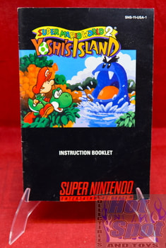 Super Mario World 2 Yoshi's Island Instruction Booklet