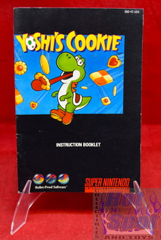 Yoshi's Cookie Instruction Booklet
