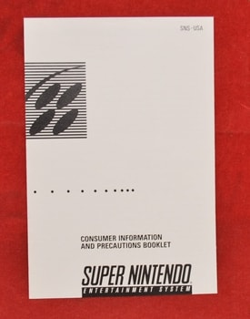 SNES Consumer Information Booklet