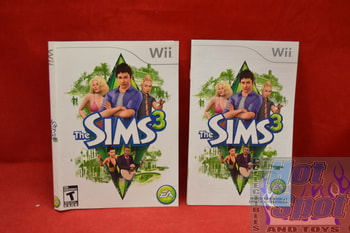 The Sims 3 Instructions Booklet and Slip Cover