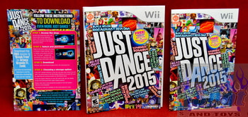 Just Dance 2015 Slip Cover & Booklet