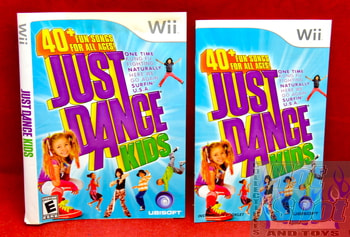 Just Dance Kids Slip Cover & Booklet