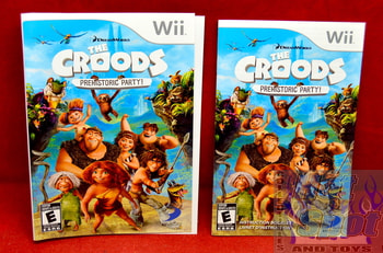 The Croods Prehistoric Party Slip Cover & Booklet