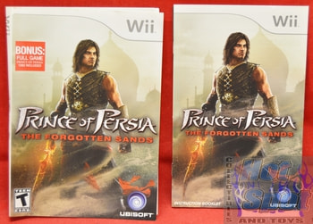 Prince of Persia BOOKLET AND SLIP COVER ONLY