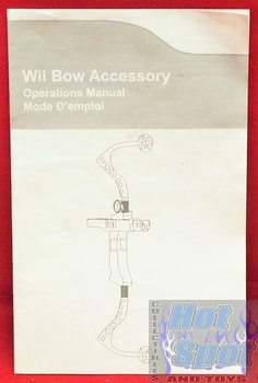 Wii Bow Accessory Operations Manual