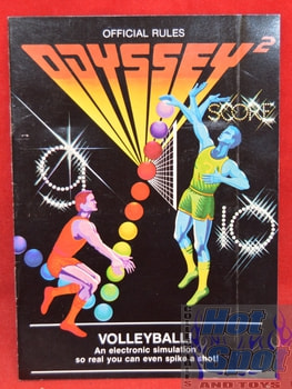 Odyssey2 Volleyball Instructions