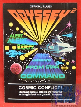 Cosmic Conflict! Instructions