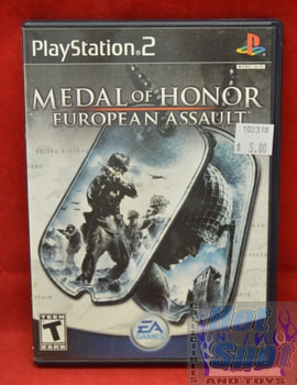 Medal of Honor: European Assault Game
