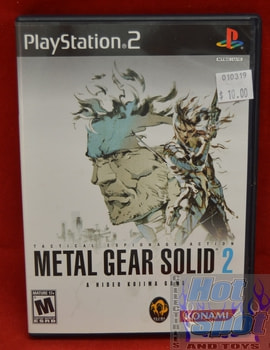 Metal Gear Solid 2 Game