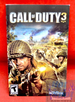 Call of Duty 3 Instruction Booklet