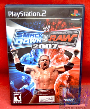 Smack Down vs. Raw 2007 Original CASE ONLY