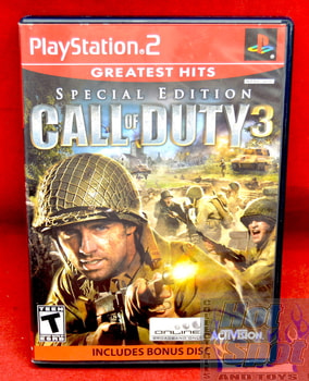 Call of Duty 3 Special Edition GH Bonus Disc CASE ONLY