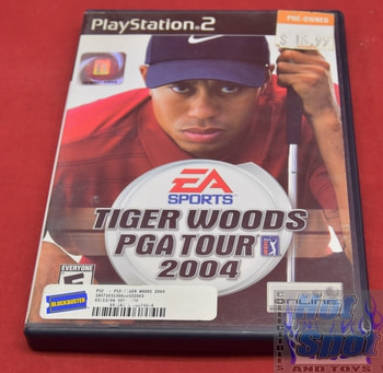Tiger Woods PGA Tour 2004 PS2 Covers, Cases, and Booklets