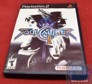 Soul Calibur II PS2 Covers, Cases, and Booklets