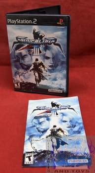 Soul Calibur III PS2 Covers, Cases, and Booklets
