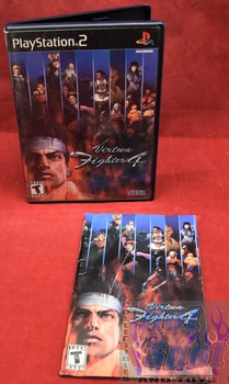 Virtua Fighter 4 PS2 Covers, Cases, and Booklets