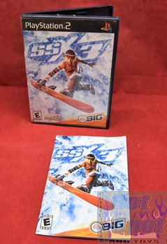 SSX3 PS2 Covers, Cases, and Booklets
