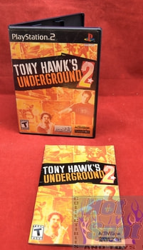 Tony Hawk's Underground 2 PS2 Covers, Cases, and Booklets
