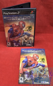 Spider Man Friend or Foe PS2 Covers, Cases, and Booklets