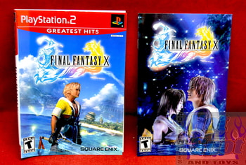 Final Fantasy X Slip Cover & Booklet