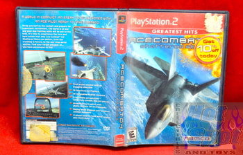 GH Ace Combat 04 Shattered Skies Case & Booklet