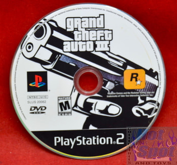 Grand Theft Auto III Disc Only