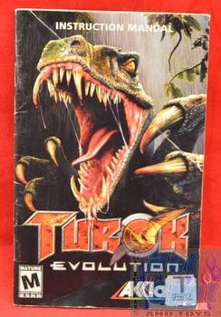 Turok Evolution Instructions Booklet