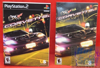 Corvette Instructions Booklet and Slip Cover