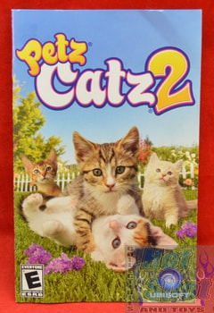 Petz Catz 2 Instruction Booklet
