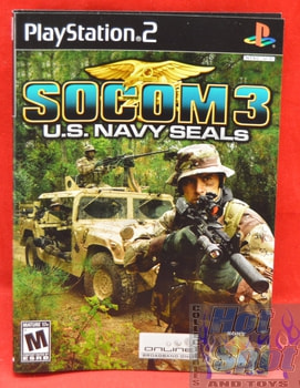Socom 3 U.S Navy Seals Slip Cover