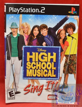 High School Musical Sing It! Slip Cover