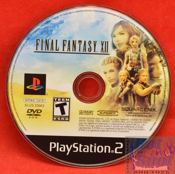 Final Fantasy XII Game DISC ONLY PS2
