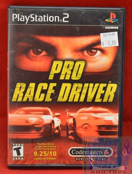 Pro Race Driver Game PS2