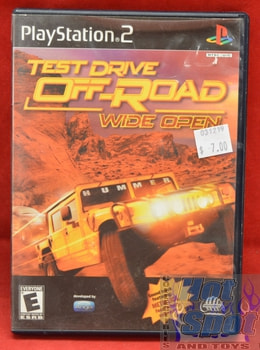 Test Drive Off Road wide Open Game PS2