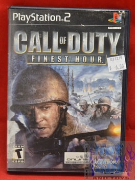 Call of Duty Finest Hour Game PS2